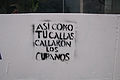 Banner at demonstrations and protests against Chavismo and Nicolas Maduro government 31.jpg