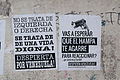 Banner at demonstrations and protests against Chavismo and Nicolas Maduro government 36.jpg