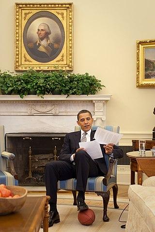 Oval Office fireplace