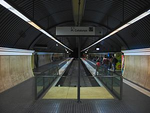 Avinguda tibidabo barcelona vall s line wikipedia - Placa kennedy barcelona ...