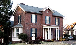 National Register of Historic Places listings in Blount County, Tennessee - Image: Bartlett house maryville tn 1