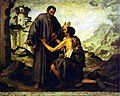 Bartolomé Esteban Murillo- Brother Juniper and the Beggar.JPG