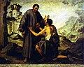 Bartolomé Esteban Murillo- Brother Juniper and the Beggar.JPG