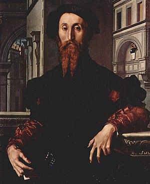 Portrait of Bartolomeo Panciatichi - Image: Bartolomeo Panciatichi by Angelo Bronzino