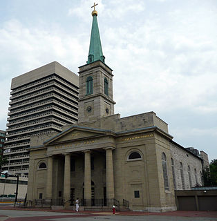 Basilica of St. Louis, King of France church building in Missouri, United States of America