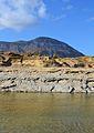 Bassa del riu Gorgos amb el Montgó al fons.JPG