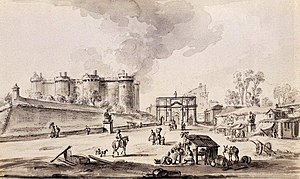 Bastille in 1789
