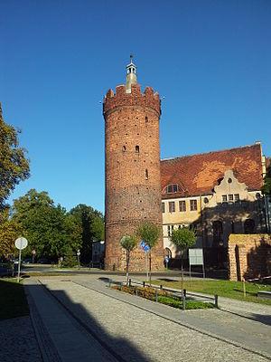 Gubin, Poland - Ostrowska Gate tower