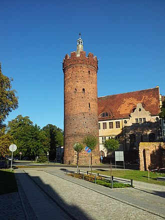 Gubin, Poland - Ostrowska Gate tower