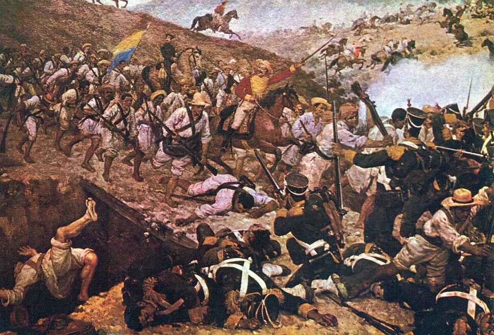 Batalla de Boyaca de Martin Tovar y Tovar