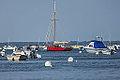 Bateau sur le bassin d'Arcachon - Barco en la bahía de Arcachon - Boat on the Bay of Arcachon - 船在阿卡雄湾 - Image Picture Photography (14501012901).jpg