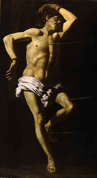 Battistello Caracciolo - Image: Battistello Martirio de San Sebastián Fogg Art Museum