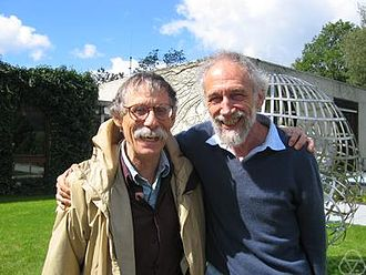 Paul Baum (mathematician) - Paul Baum (left) and Alain Connes (2004)