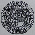 Bayerisches Staatsministerium des Innern, historischer Siegelabdruck 1928 (DFM).JPG