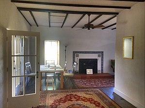 National Register of Historic Places listings in Cochise County, Arizona - Image: Bear Spring House interior
