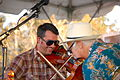 Beausoleil Happy Violin Duet at Festivals Acadiens et Créoles 2010.jpg