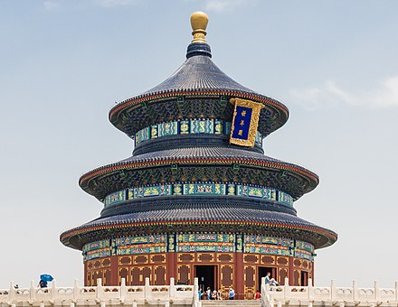 Temple of Heaven a Taoist temple complex in Beijing Beijing China Hall-of-Prayer-for-Good-Harvests-01.jpg