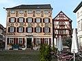 Beim 366 km langen Neckartalradweg, Hotel zum Karpfen - panoramio.jpg
