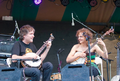 Bela Fleck and Abigail Washburn play a duet at Shakori Hills Festival in 2010..png