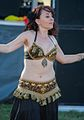 Belly dancer at the 2012 Las Vegas Age of Chivalry (8104145605).jpg