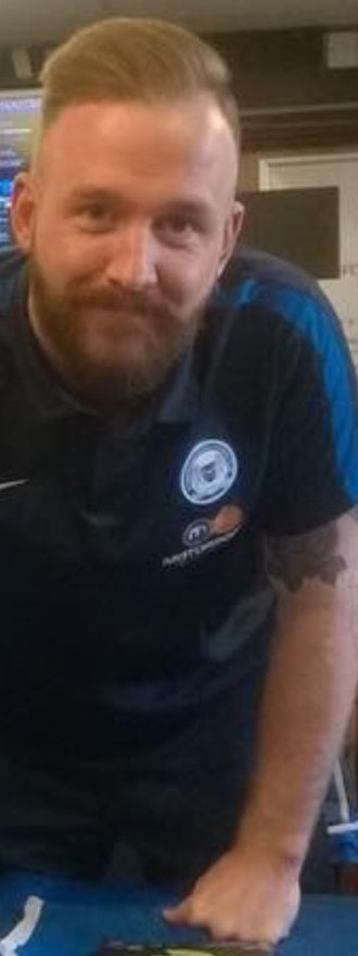 Ben Alnwick - Ben Alnwick at a Peterborough United signing