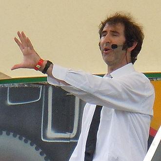 Ben Moor (writer) - Ben Moor in 2012