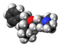 Bencyclane 3D spacefill.png