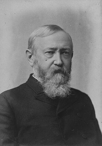 1888 United States presidential election in Virginia - Image: Benjamin Harrison Portrait