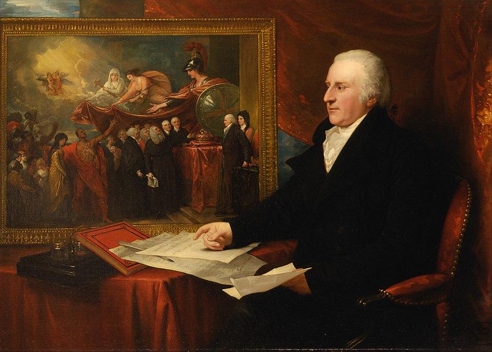 Benjamin West - John Eardley Wilmot - Google Art Project