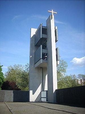 Maria Regina Martyrum - Maria Regina Martyrum – the campanile