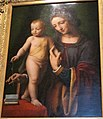 Bernardino luini (attr.), madonna col bambino e una colombina.JPG