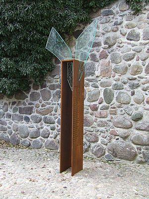 Bernau bei Berlin - Monument for the victims of witch-hunt in Bernau