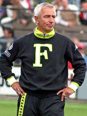 Bert van Marwijk - Van Marwijk won the UEFA Cup (now called the Europa League) with Feyenoord in 2002.