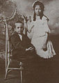 Bertha and March Haynes, children of Elwood Haynes, 1902.jpg