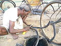 Bicycle repairing.JPG