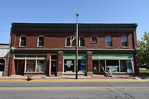 National Register of Historic Places listings in Marinette County, Wisconsin - Image: Bijou Theatre Building