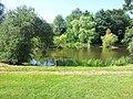 Bildstock, Teich im Villinger Park - geo.hlipp.de - 38433.jpg