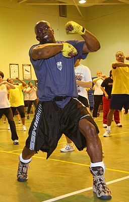 Billy Blanks navy
