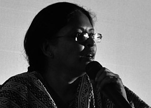 Beena Paul - Beena Paul during an open forum at Kalabhavan, Kochi, in 2010