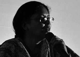 Beena Paul - Beena Paul during an open forum at Kalabhavan, Kochi, in 2010