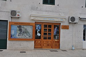 Biokovo - The Biokovo Nature Park Visitor Center in downtown Makarska