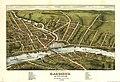 Bird's eye view of Gardiner and Pittston, Kennebec Co., Maine, 1878 LOC 80693968.jpg