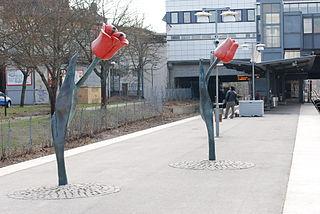 Högdalen metro station Stockholm Metro station