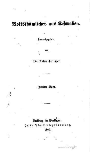 File:Birlinger Volkstuehmliches aus Schwaben 2.pdf