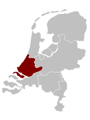 Roman Catholic Diocese of Rotterdam - Image: Bisdom Rotterdam Locatie