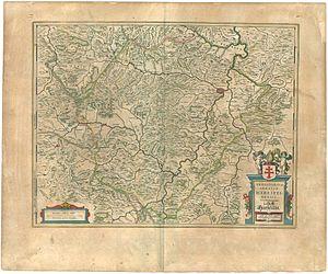 Hersfeld Abbey - Territorium Abbatæ Heresfeldensis, 1645