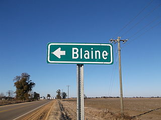 Blaine, Mississippi Unincorporated community in Mississippi, United States