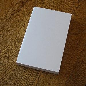Paperback - Blank paperback book