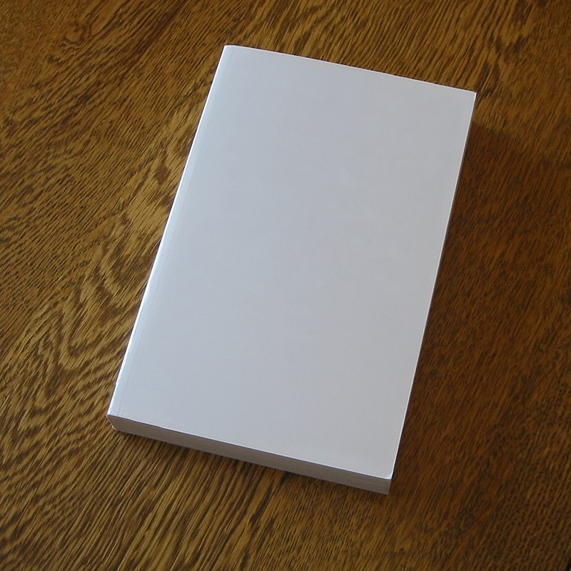 Blank book on a table.jpg