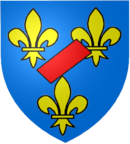 Coat of arms of the house of Bourbon-Vendôme.